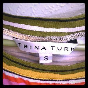 T- shirt dress: Trina Turk